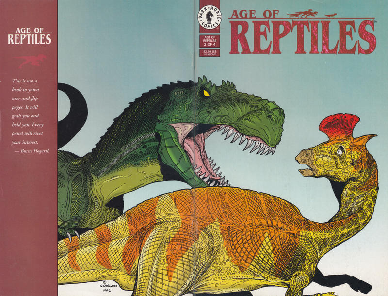 Cover for Age of Reptiles (Dark Horse, 1993 series) #3