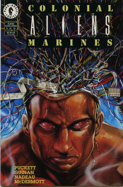 Cover for Aliens: Colonial Marines (Dark Horse, 1993 series) #8