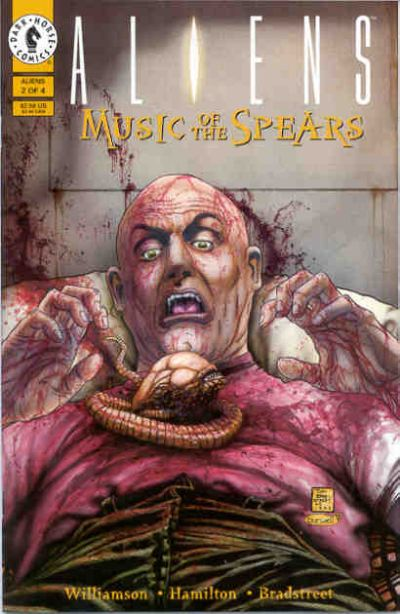 Cover for Aliens: Music of the Spears (Dark Horse, 1994 series) #2