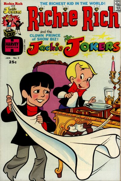 Cover for Richie Rich & Jackie Jokers (Harvey, 1973 series) #2
