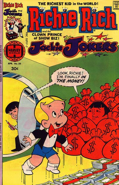 Cover for Richie Rich & Jackie Jokers (Harvey, 1973 series) #20