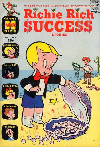 Cover for Richie Rich Success Stories (Harvey, 1964 series) #6