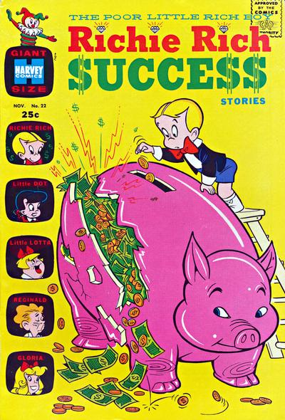 Cover for Richie Rich Success Stories (1964 series) #22
