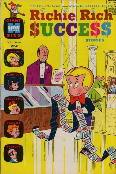 Cover for Richie Rich Success Stories (Harvey, 1964 series) #40