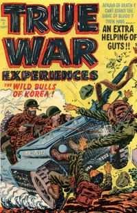 Cover Thumbnail for True War Experiences (Harvey, 1952 series) #1 (2)