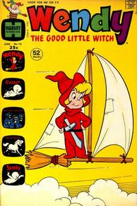 Cover Thumbnail for Wendy, the Good Little Witch (Harvey, 1960 series) #73