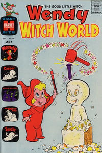 Cover Thumbnail for Wendy Witch World (Harvey, 1961 series) #36