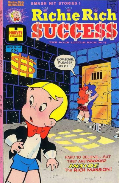 Cover for Richie Rich Success Stories (1964 series) #62