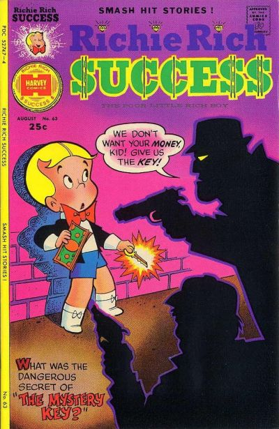 Cover for Richie Rich Success Stories (Harvey, 1964 series) #63