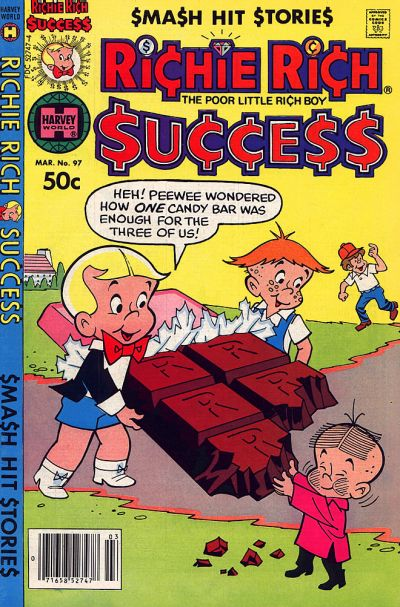 Cover for Richie Rich Success Stories (Harvey, 1964 series) #97