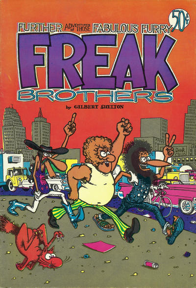 Cover for The Fabulous Furry Freak Brothers (1971 series) #2 [2.95 USD 13th print]