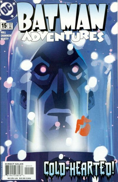 Cover for Batman Adventures (DC, 2003 series) #15
