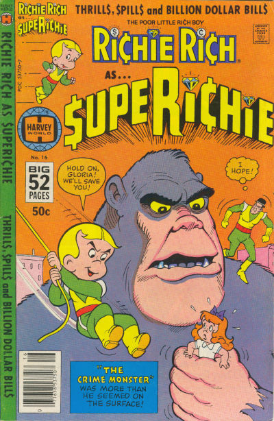 Cover for Superichie (Harvey, 1976 series) #16