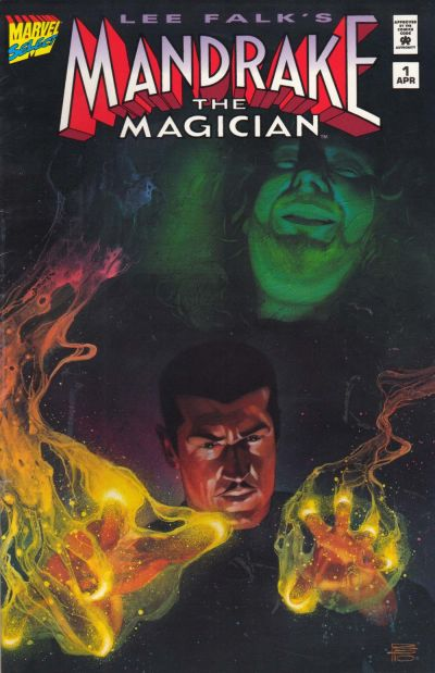 Cover for Mandrake the Magician (Marvel, 1995 series) #1