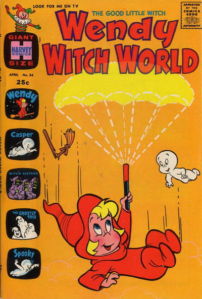 Cover for Wendy Witch World (Harvey, 1961 series) #34