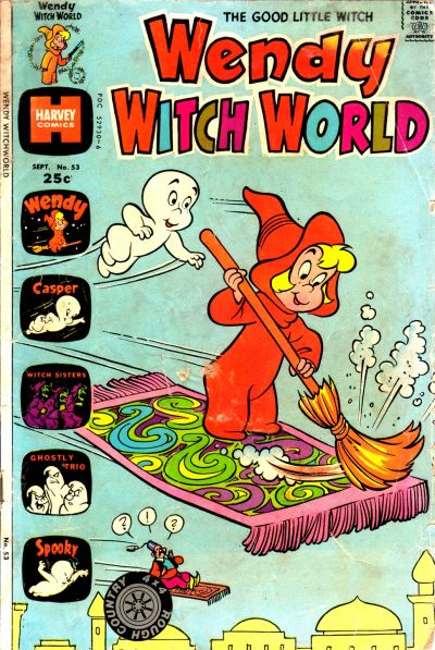 Cover for Wendy Witch World (Harvey, 1961 series) #53