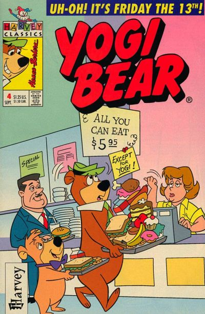 Cover for Yogi Bear (Harvey, 1992 series) #4