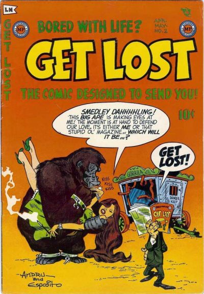 Cover for Get Lost (Mikeross Publications, 1954 series) #2