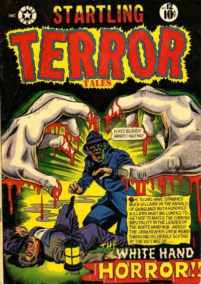 Cover for Startling Terror Tales (Star Publications, 1952 series) #12