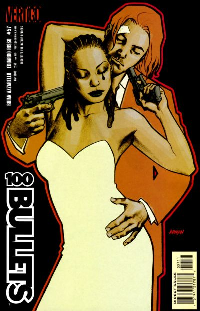 Cover for 100 Bullets (DC, 1999 series) #57