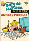 Cover for Dennis the Menace Pocket Full of Fun (Hallden; Fawcett, 1969 series) #15