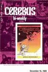 Cover for Cerebus Bi-Weekly (Aardvark-Vanaheim, 1988 series) #2