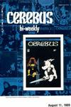 Cover for Cerebus Bi-Weekly (Aardvark-Vanaheim, 1988 series) #19