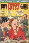 Cover for Boy Loves Girl (Lev Gleason, 1952 series) #25