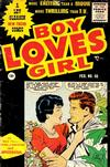 Cover for Boy Loves Girl (Lev Gleason, 1952 series) #56