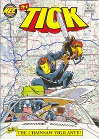 Cover Thumbnail for The Tick (New England Comics, 1988 series) #9 [1st printing]