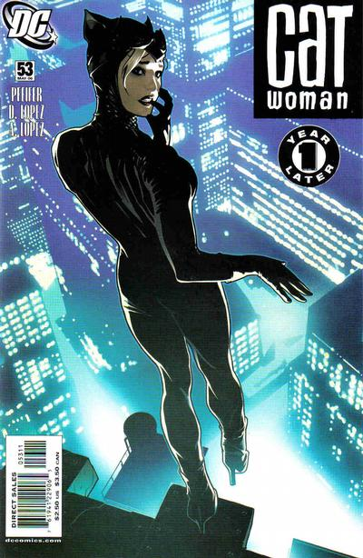Cover for Catwoman (2002 series) #53 [2nd Printing]