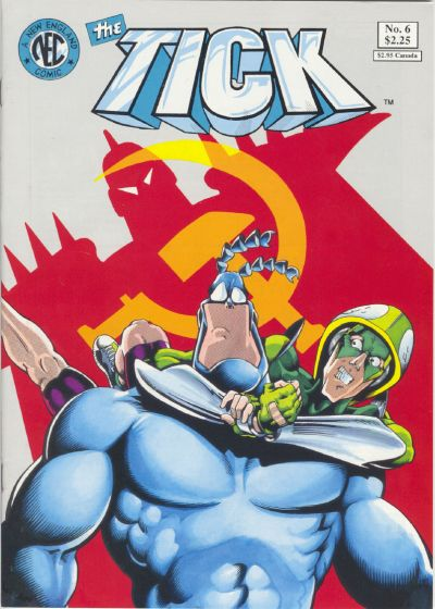 Cover for The Tick (New England Comics, 1988 series) #6