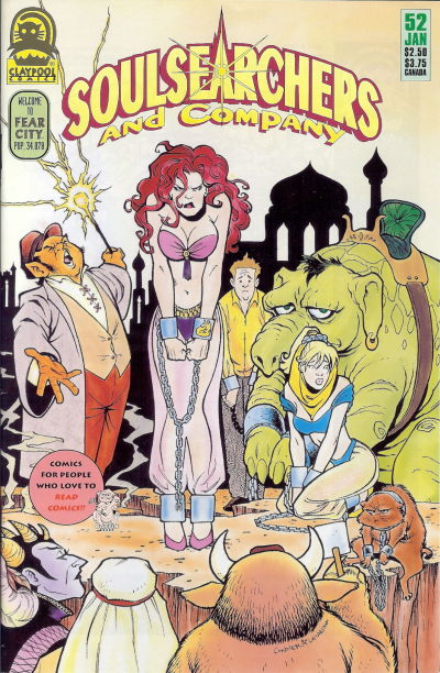 Cover for Soulsearchers and Company (Claypool Comics, 1993 series) #52