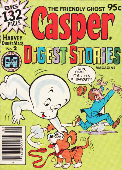 Cover for Casper Digest Stories (Harvey, 1980 series) #2