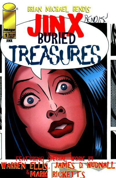 Cover for Jinx: Buried Treasure (1998 series) #1
