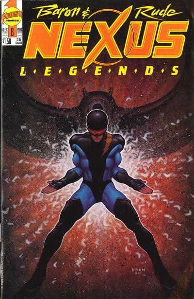 Cover for Nexus Legends (1989 series) #8