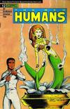 Cover for The New Humans (Malibu, 1987 series) #12