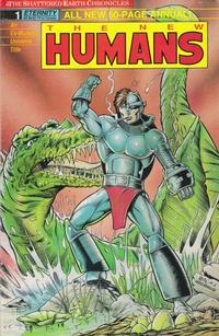 Cover Thumbnail for New Humans Annual - The Shattered Earth Chronicles (Malibu, 1989 series) #1