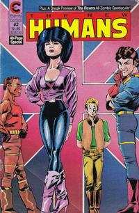 Cover Thumbnail for The New Humans (Malibu, 1987 series) #2
