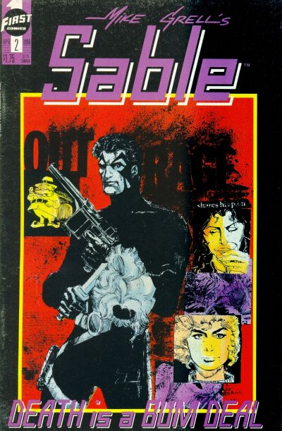 Cover for Mike Grell's Sable (First, 1990 series) #2