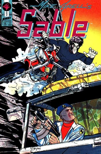 Cover for Mike Grell's Sable (First, 1990 series) #9