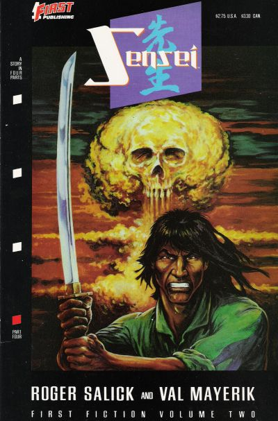 Cover for Sensei (First, 1989 series) #4