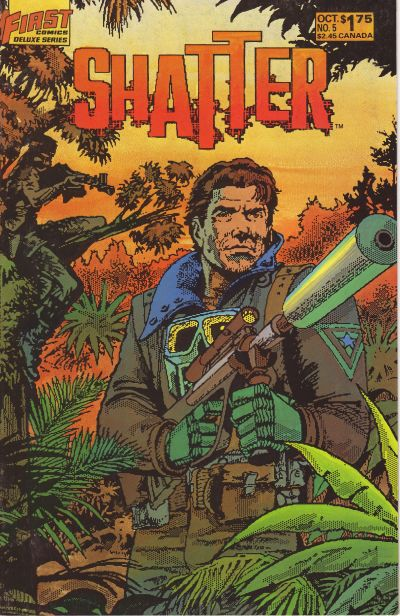 Cover for Shatter (1985 series) #5