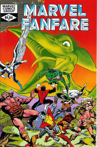 Cover Thumbnail for Marvel Fanfare (Marvel, 1982 series) #3