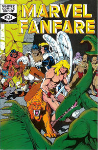 Cover Thumbnail for Marvel Fanfare (Marvel, 1982 series) #4