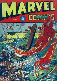 Cover Thumbnail for Marvel Mystery Comics (Marvel, 1939 series) #42