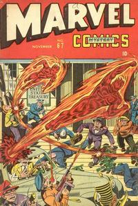 Cover Thumbnail for Marvel Mystery Comics (Marvel, 1939 series) #67