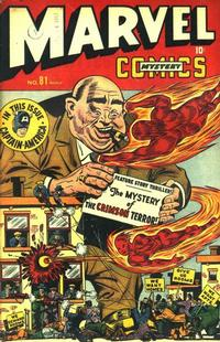 Cover Thumbnail for Marvel Mystery Comics (Marvel, 1939 series) #81