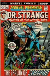 Cover Thumbnail for Marvel Premiere (Marvel, 1972 series) #4