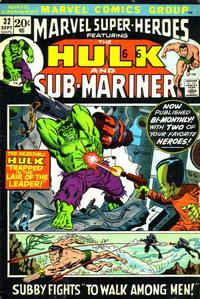 Cover Thumbnail for Marvel Super-Heroes (Marvel, 1967 series) #32